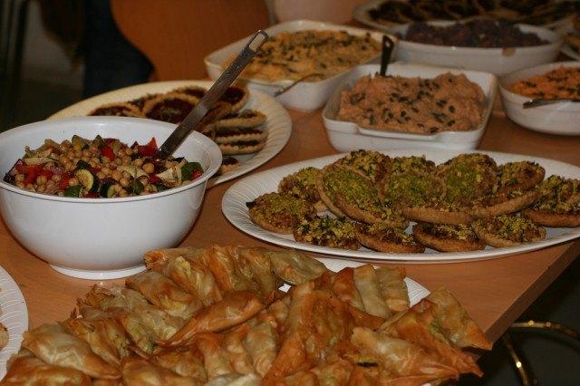 Porto party, buffet