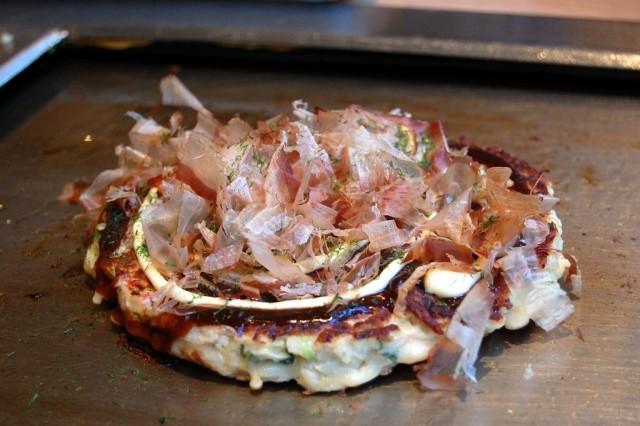 Okonomiyaki, Katsuobushi