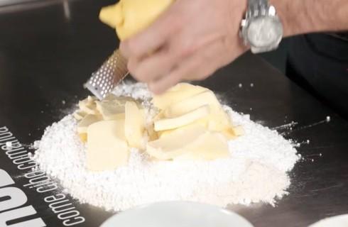L'impasto della pasta frolla