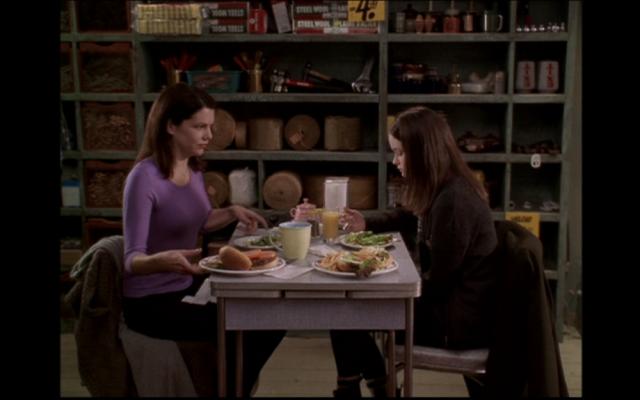 Gilmore Girls table