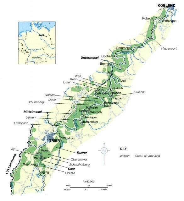 Mappa Mosella