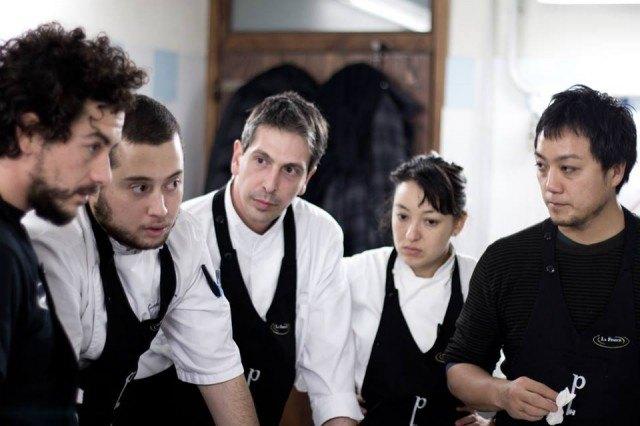 Marco Bonfanti, Ricardo Chaneton, Yoji Tokuyoshi e i cuochi del Postrivoro