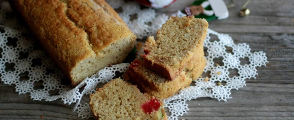 Plum cake ai canditi senza glutine