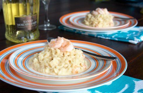 Il risotto allo spumante con la ricetta per il cenone di Capodanno