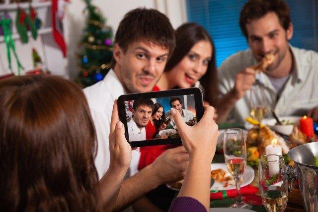 Foto a tavola