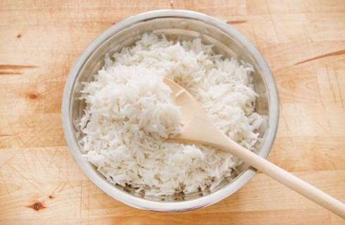 Il riso Thai lessato