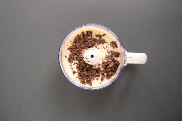 La farcia di ricotta e il cioccolato della crostata