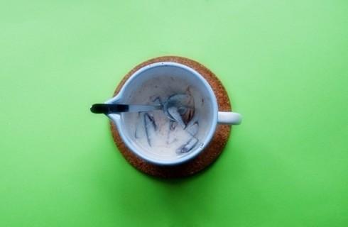 La crema al cioccolato e yogurt