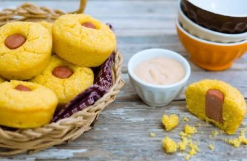 Muffin di polenta