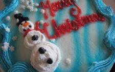 Le più belle torte natalizie decorate