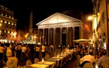 Roma: dove mangiare tardi e bene