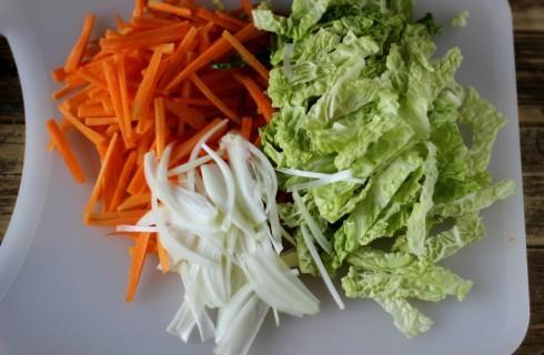 Le verdure a julienne