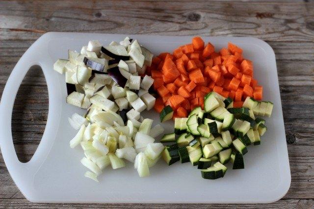 Verdure per cous cous