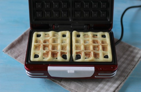 I waffle in cottura