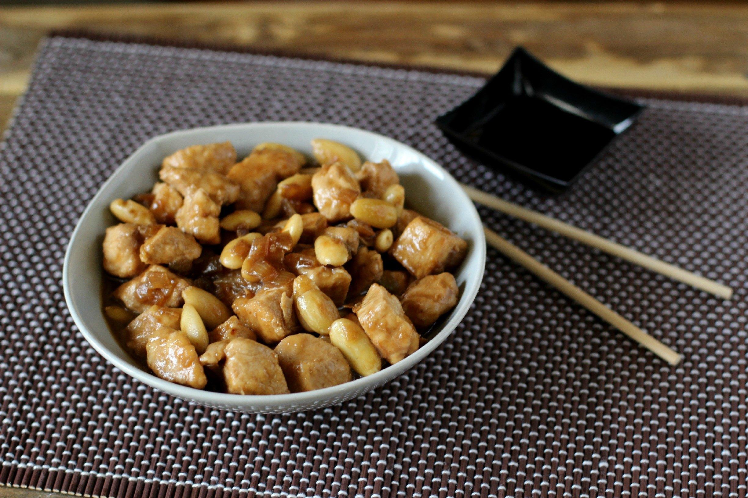 Pollo alle mandorle ricetta tradizionale cinese agrodolce for Casa tradizionale cinese