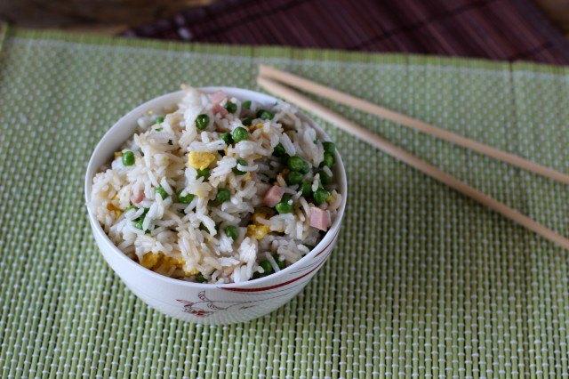 Il riso alla cantonese è pronto