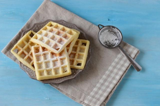 I waffle