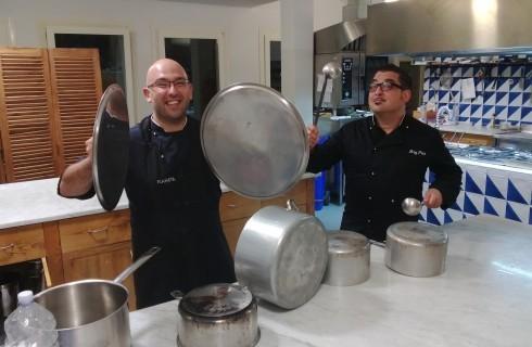 Angelo Pumilia da Planeta: cucina per forestieri