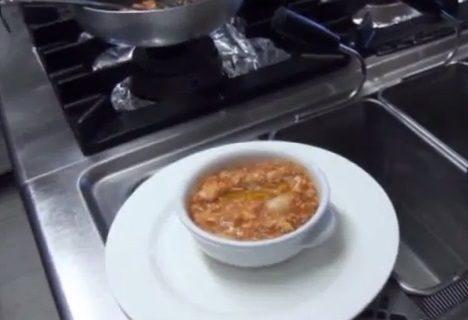 Acquacotta con pane toscano con la ricetta di Masterchef