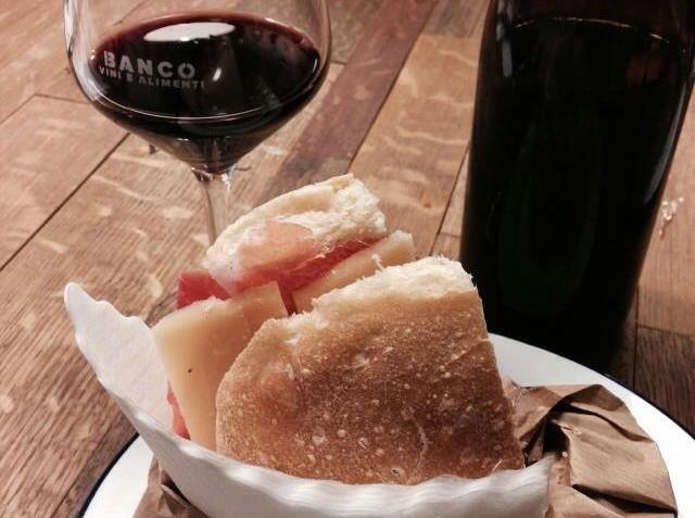 banco vino e alimenti