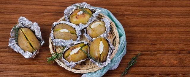 Le patate al cartoccio
