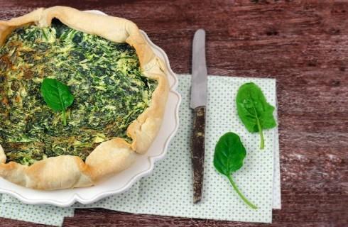 Ricetta della torta salata ricotta e spinaci
