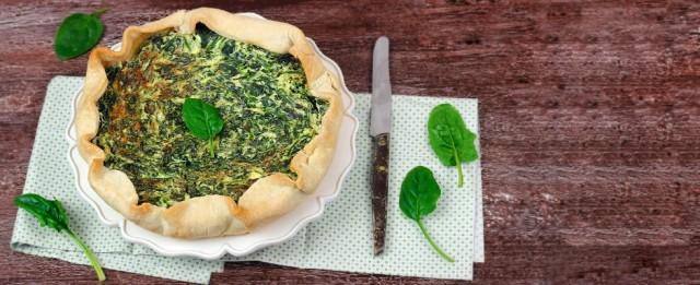 La torta rustica ricotta e spinaci