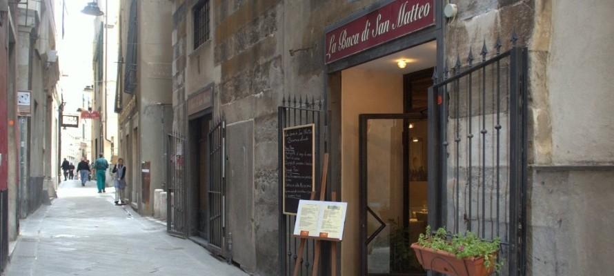 La Buca di San Matteo, Genova