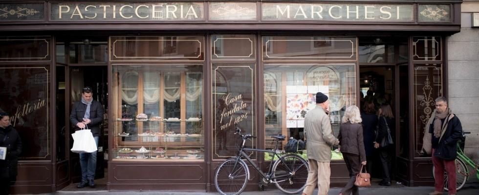Botteghe storiche: pasticceria Marchesi a Milano