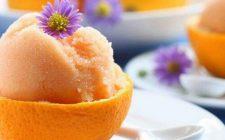 Le arance ripiene di gelato con la ricetta del goloso dessert invernale
