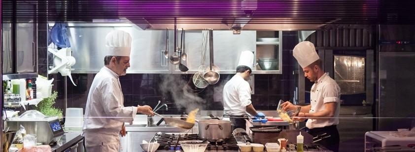 Oscar Chef, Roma