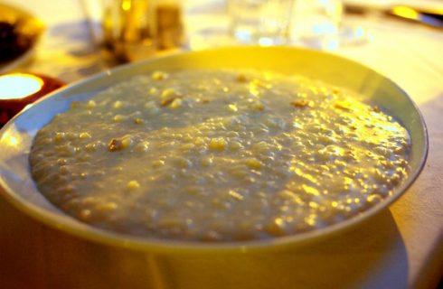 Il risotto sedano e gorgonzola, il primo piatto veloce