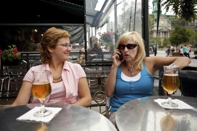 Telefono al ristorante