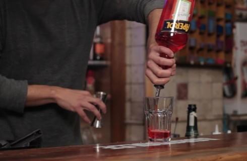 Lo spritz con l'aperol