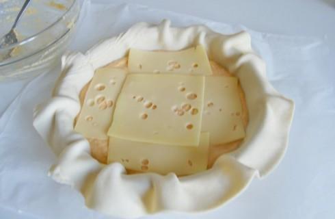 La preparazione della torta di zucca