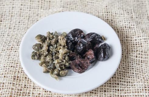 I capperi e le olive