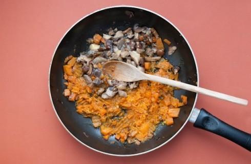 La salsa degli gnocchi di polenta