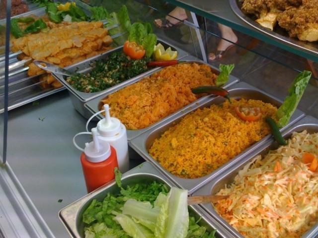 Kebab bancone