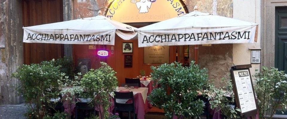 Acchiappafantasmi, Roma