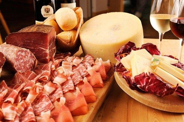salumi formaggi
