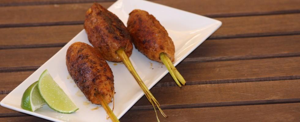 Polpette di pollo thai