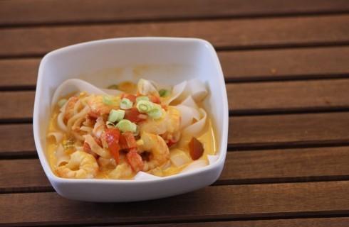 Zuppa di gamberi thailandese