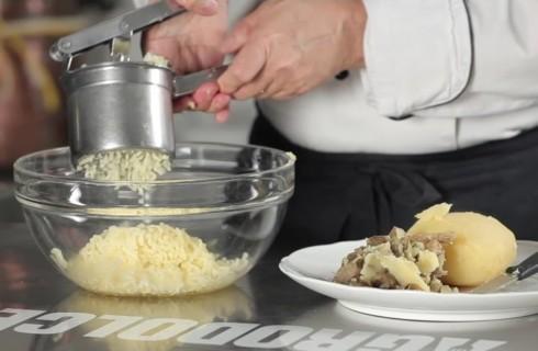 Le patate schiacciate