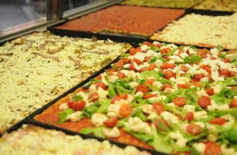 La classifica delle 10 migliori pizze al taglio di Roma