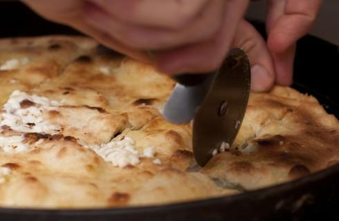 Ricetta della focaccia al formaggio di Recco