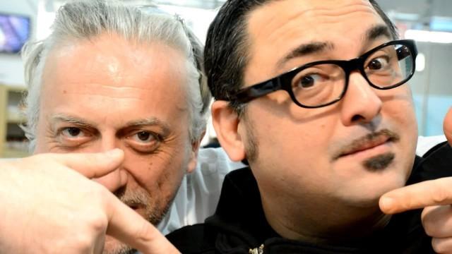 Roy e Davide ph by Elvio Gorelli