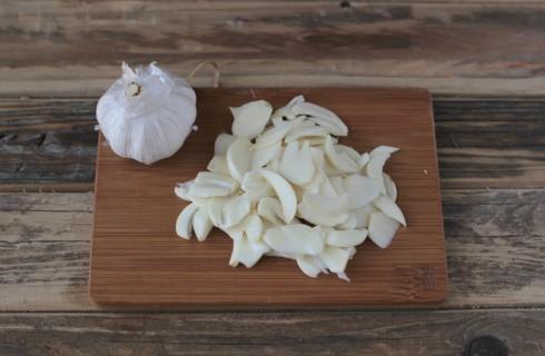 L'aglio per la bagna cauda