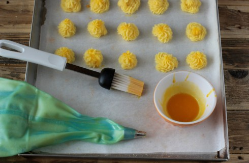 Il confezionamento delle patate duchessa