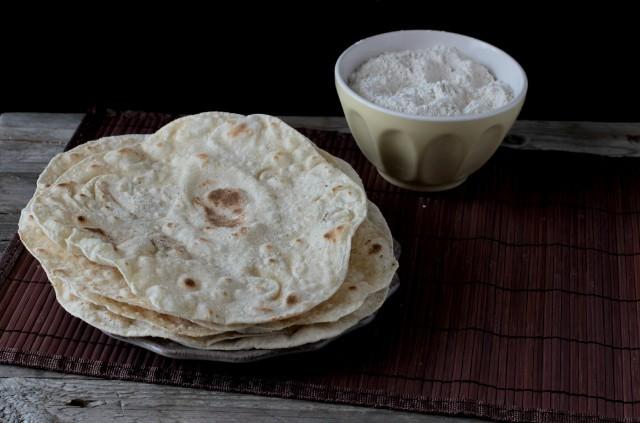 Il chapati, pane indiano senza lievito