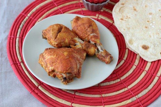 Il pollo tandoori